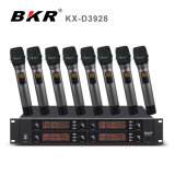 8 em 1 microfone sem fio Kx-D3928