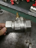 더 긴 끝 (YD-1017)를 가진 니켈에 의하여 도금되는 금관 악기 통제 공 벨브