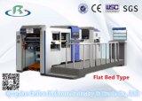 máquina Flatbed ondulada semiautomática da cartonagem da caixa 300A