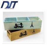El rectángulo de madera del almacenaje directo de la fábrica con crea para requisitos particulares