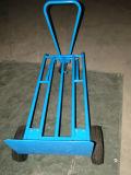Trole resistente, trole da mão de 3 rodas para o Convertible de escalada Teleslopic das escadas