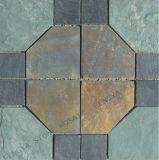 セラミックの床にモザイクタイルを使用したホットデザイン