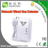 Su uso en casa con cable de red detector de gas (SVS-YQ100)