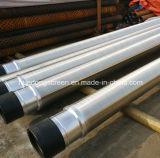 acciaio inossidabile della scanalatura di 0.5mm 304/316 di tubo del filtro per pozzi spostato collegare del Johnson con l'accoppiamento del filetto