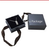 La caja de embalaje de la joyería del almacenaje de papel del regalo con crea para requisitos particulares