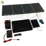 40W Folding Solar Charger/postage Solar seals panel (CE, RoHS, FCC)