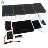 40W che piega il corredo portatile del pannello solare del caricatore solare (CE, RoHS, FCC)