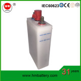 Nickel Fer Batterie/Batterie Ni-Fe 1,2V 10AH de l'énergie solaire