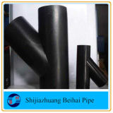 Te del lateral de la instalación de tuberías de la ramificación del grado Y del acero inoxidable 45