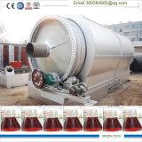 Desperdício da pirólise ao petróleo que recicl a maquinaria
