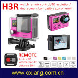 "12m 4k WiFi de Sport DV 1080P 2.0 "" LCD 170 Graad 30m Waterdicht van de Camera van de Actie Controlemechanisme Camcorder+Remote"