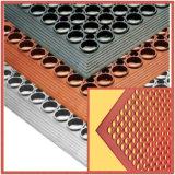 台所またはゴム製床のためのスリップ防止使用された耐火性のゴム製マット
