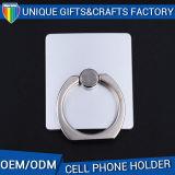 디자인 로고에 의하여 주문을 받아서 만들어진 이동 전화 반지 홀더를 체중을 줄이십시오