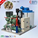 1 Máquina Ton hielo en escamas para la refrigeración de los vehículos y de Pesca