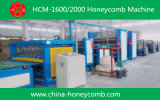 Automático Honeycomb Core Equipment Hacer