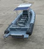中国Aqualand 30feet 9mの堅く膨脹可能なモーターボートまたはPessengerのボートか肋骨の哨戒艇(RIB900B)