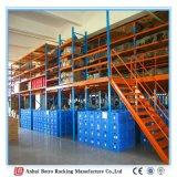 La plate-forme de travail réglable, Metal la mezzanine de mémoire de la Chine d'étagère réglable