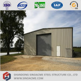 Sinoacme Pre-Enigneered 가벼운 강철 구조물 작업장