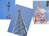 La alta calidad galvanizó la torre del tubo de 3 piernas para las telecomunicaciones