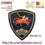 Logo classico Embroidery Patch con Back Glue