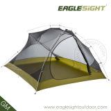観光事業の余暇のキャンプテント2のドアのキャンプのテント