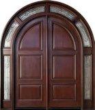 La puerta de madera de alta calidad de la puerta de madera maciza de diseño diversificada
