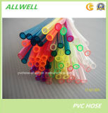 PVC Plastique Coloré Transparent Flexible Water Tube Level Tuyau 1/4 ""