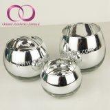 De uitstekende kwaliteit galvaniseerde de Zilveren Kop van de Kaars van de Houder van de Kaars van het Glas