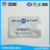 Pacote de cartão de crédito de papel seguro Manga de bloqueio RFID