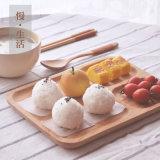Houten Dienblad van de Kleur van Hongdao het Natuurlijke met Handvat voor Schotel _E van het Dienblad van het Ontbijt de Dienende
