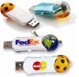 Pollice istantaneo del bastone di memoria dell'azionamento della penna dell'azionamento del USB 2.0 della scheda di memoria del USB del disco istantaneo del bastone del USB di gioco del calcio dell'azionamento dell'istantaneo del USB dell'OEM