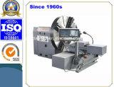 고품질 플랜지 (CK61200)를 위한 3개의 물림쇠 턱을%s 가진 수평한 CNC 도는 선반