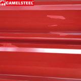 Prepainted лист крыши оцинкованной стали