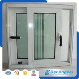 Ventana UPVC / Ventana de PVC con Vidrio Doble Diseño de Cristal