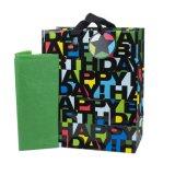 Sac cadeau Brithday, sacs à cadeaux, sac à papier cadeau, sac en papier Kraft, sac à main en papier