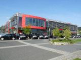 Edificio prefabricado de la estructura de acero del estilo moderno (KXD-SSW115)