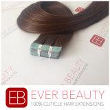 Cabelo Mongolian de Remy do Virgin do cabelo da fita do cabelo humano