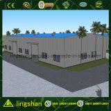 Prefabricados de estructura de acero Galvanización de almacenamiento de almacén (LS-SS-092)