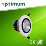 COB dirigée vers le bas Light/ 18W vers le bas LED lumière (opt-DL160-CL18W)