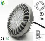 알루미늄 방열기 및 100-277V 95lm/W를 가진 30W AR111 Osram LED 램프