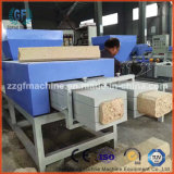 Bloco de madeira da pálete que faz a máquina