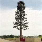 위장하는 나무를 꾸며서 이동할 수 있는 통신 탑을 직류 전기를 통했다
