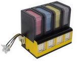 Nueva sensación CIS de Univesal (paquete incluyendo de la tinta él uno mismo) para los 4 cartuchos de tinta del color Forhp, Canon, Samsung