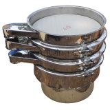Tamiz vibrante del tamiz del acoplamiento extrafino del micrón para la harina de arroz