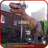 Jurassic Park-hohe Simulations-lebensgrosser Dinosaurier