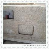 G682 Shangdong Cocina encimera de granito, la vanidad, losas de TOPS