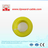 Bon câble de fil électrique d'en cuivre d'isolation de PVC de quantité