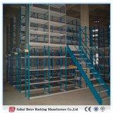 Crémaillère en acier lourde de la mezzanine Q235 de rendement de matériel de mémoire de qualité