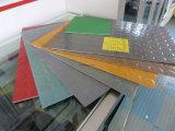 Ficha de oficina antiderrapagem, tapetes de mosaico de borracha quadrados, Tapete do Piso de Borracha