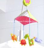 Mouvement musical du lit bébé Couper un jouet animal